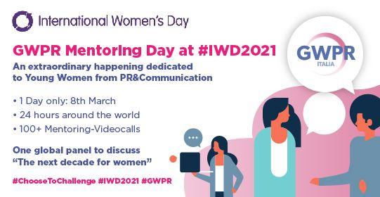 8 Marzo | GWPR Mentoring Day at #IWD2021