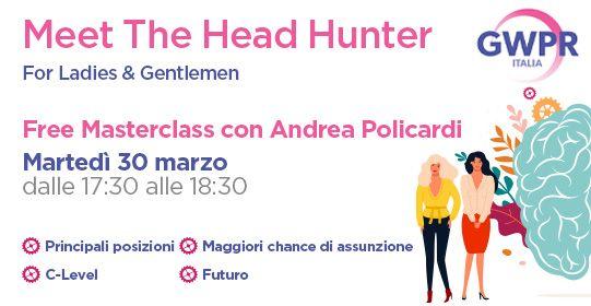 30 Marzo | FREE MASTERCLASS con Andrea Policardi